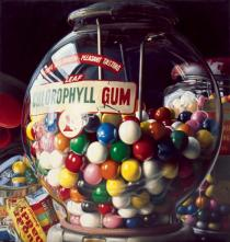 "Charles Bell, Gum Ball #1 ""Sugar Daddy"", 1975