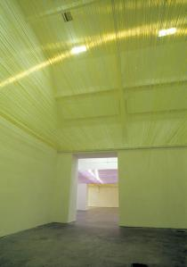 Ayse Erkmen, Under the Roof, 2005. Ikon Gallery Birmingham 