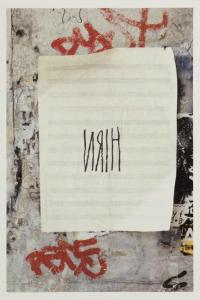 Christian Marclay, Graffiti Composition, 2002, Deutsche Bank Collection, Courtesy Paula Cooper Gallery, New York. � Christian Marclay