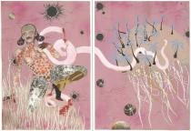 Wangechi Mutu, Yo Mama, 2003. The Museum of Modern Art, New York. The Judith Rothschild Foundation Contemporary Drawings Collection Gift. © Wangechi Mutu. Digital Image © The Museum of Modern Art/Licensed by SCALA/Art Resource, NY. Photo by David Allison