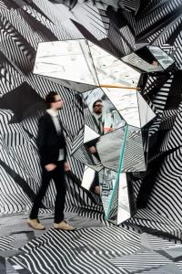 Tobias Rehberger. Home and Away and Outside, Installation View, 2014. © Schirn Kunsthalle Frankfurt. Photo: Norbert Miguletz.