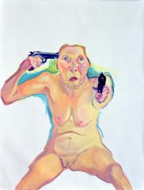 Maria Lassnig, Du oder Ich [You or Me], 2005. Friedrich Christian Flick Collection