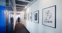 Drawings by Raymond Pettibon. © Raymond Pettibon, courtesy of David Zwirner, New York, Foto: Frank Marburger & Klaus Helbig