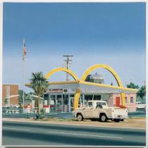 Ralph Goings, McDonalds Pickup, 1970