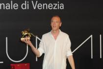 Christian Marclay, Recipient of Golden Lion for the best artist at the ILLUMInations Exhibition. Photo: Giorgio Zucchiatti. Courtesy: la Biennale di Venezia
