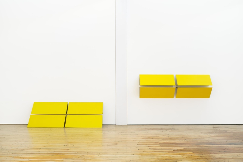 Charlotte Posenenske, Reliefs Serie C, 1967, installation view, Dia:Beacon, Beacon, New York. © Estate of Charlotte Posenenske, Frankfurt. Poto: Bill Jacobson Studio, New York. Courtesy of Dia Art Foundation, New York