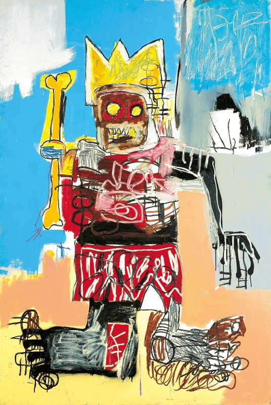 Jean-Michel Basquiat, Untitled 1982. © Estate of Jean-Michel Basquiat. Licenced by Artestar, New York