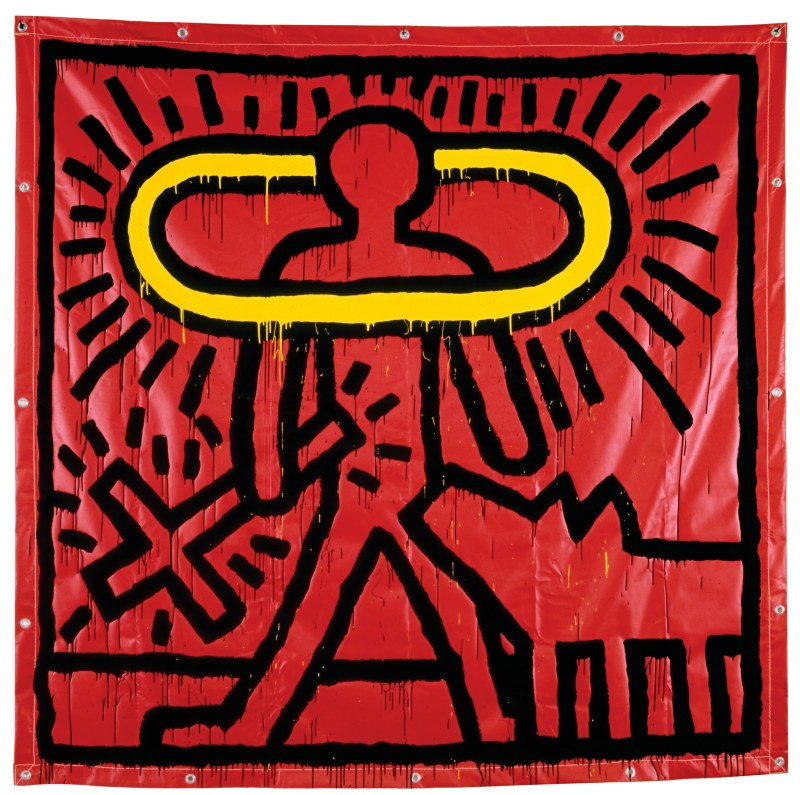 Keith Haring, Untitled, 1982. Keith Haring artwork, © Keith Haring Foundation