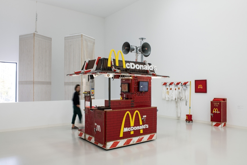 Tom Sachs: Timeline, exhibition view, Schauwerk Sindelfingen, 2019. © Tom Sachs. Photo: Frank Kleinbach