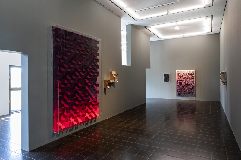 Works by Jan Albers, installation view, Hamburger Kunsthalle, 2020. © Courtesy the artist & VAN HORN, Düsseldorf. Photo: Fred Dott